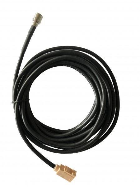 Câble adaptateur coaxial 300cm RG58 FAKRA-I (beige) / QLS BU-ST