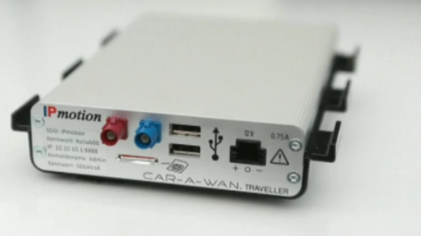 CAR-A-WAN.traveller v4, LTE 100 MBit/s